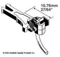 Kadee 19 NEM362 European Coupler Medium Long 10.76mm (2pr)