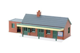 Lineside Kit - Country Station Building, brick type