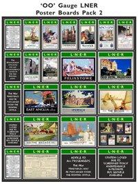 LNER Poster Boards Pack 2