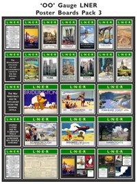 LNER Poster Boards Pack 3