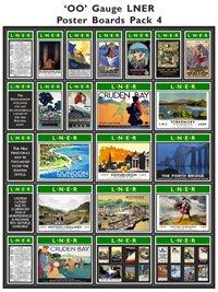 LNER Poster Boards Pack 4