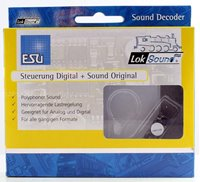 "Loksound v4.0 Micro Steam ""Generic E4 0-6-2 Tank"" Digital Sound Decoder with Speaker - 8 pin"