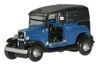 Oxford Diecast NAT002 Austin Low Loader Taxi Oxford Blue