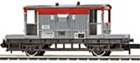 Railfreight Red/Grey Brake Van