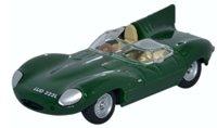 Oxford Diecast 76DTYP004 Jaguar D Type Green