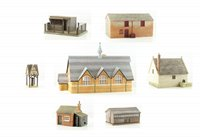 Bachmann OO Scenecraft Collection of 7 Pendon Buildings