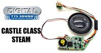 Hornby TTS Digital Sound Chip (8pin) with Castle Class Steam Sounds *2017 Range*
