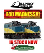 Rapido Trains VIA Rail F40PH-2D