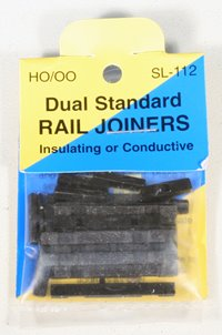 Pack of converter rail joiners code 75 to 100.