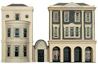 Regency Period Shops & House Building Kit