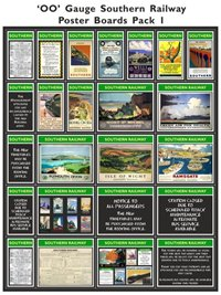 Southern Railway Poster Boards Pack 1