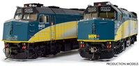 Rebuilt F40PH-2D Via Rail Canada $10 Bill Edition Diesel Locomotive #6403 (DC/DCC/Sound)