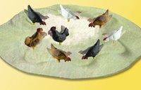 Viessmann 5128 Pecking Chickens