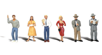 Scenic Accents - Pedestrians - HO Scale