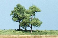 Straight Trunk Trees 2 ½ inch (Pack of 5)
