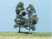 Softwood Pine Trees 3 ¼ inch (Pack of 5)