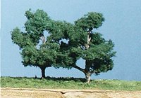 Shag Bark Trees 3 ½ inch (Pack of 3)