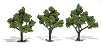Light Green Trees 4 - 5 inch (Pack of 3)