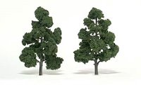 Medium Green Trees 7 - 8 inch (Pack of 2)
