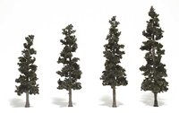 Pine Trees 4 - 6 inch (Pack of 4)