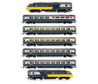 Hornby R3403 BR Blue/Grey Intercity 125 HST Pack plus 5 passenger coaches