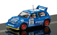 MG Metro 6R4 No.35 Willie Rutherford Slot Car