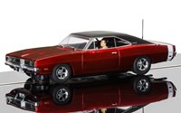 Dodge Charger R/T 1969 Candy Apple Red Slot Car
