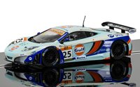 McLaren 12C GT3, Gulf Racing, Macau GT Cup 2014, Richard Meins, No.25 Slot Car (Collectors Club Exclusive)
