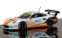 Porsche 911 Silverstone 4hr April 2015 Elms Series Gulf Racing Team No.86 Slot Car