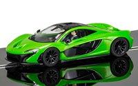 McLaren P1 Mantis Green Slot Car