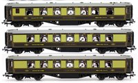 Set of 3 Festival of Britain U Type Pullman Car Coaches