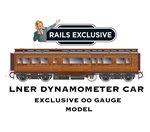 OO Gauge LNER Dynamometer Car