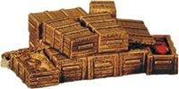 Unloaded Cargo crates open & closed