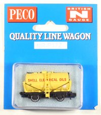 Shell Electric Oils Tank Wagon - Yellow