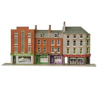 Low-relief Shops & Hotel Building Kit