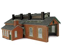 Two Track Engine Shed Kit