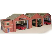 Bus Garage Kit
