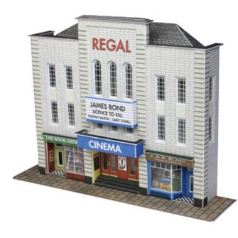 Low Relief Cinema and Shops