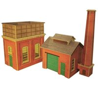Water Tower & Sand House Building Kit