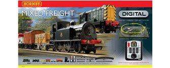 DCC SET - Mixed Freight Digital Train Set
