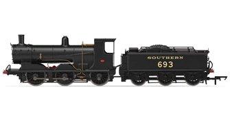 Hornby R3419 SR 0-6-0 '693' 700 Class Locomotive