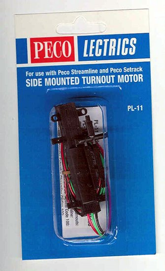 Side Mounted Turnout Motor